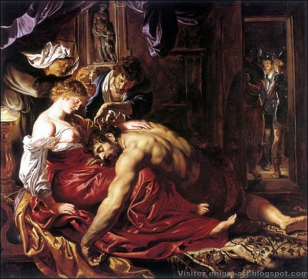 Peter Paul Rubens, Samson et Dalila