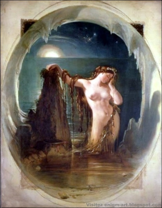 Maclise, L'origine de la harpe, 1842