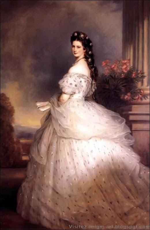 Wintherlhalter, Elisabeth d'Autriche, 1864