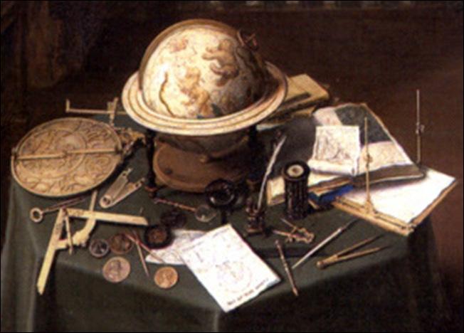 Détail, Anonyme Flamand, Allégorie de l'art et de la science, 1622-1628