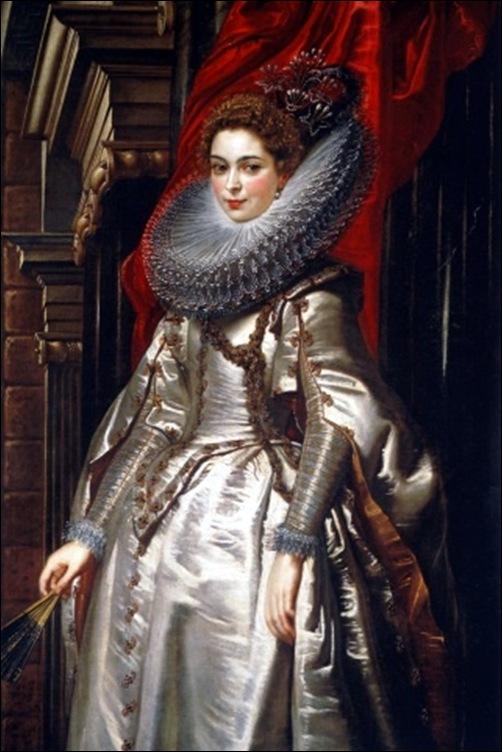 Peter Paul Rubens, Portrait de la marquise Brigida Spinola Doria, 1606