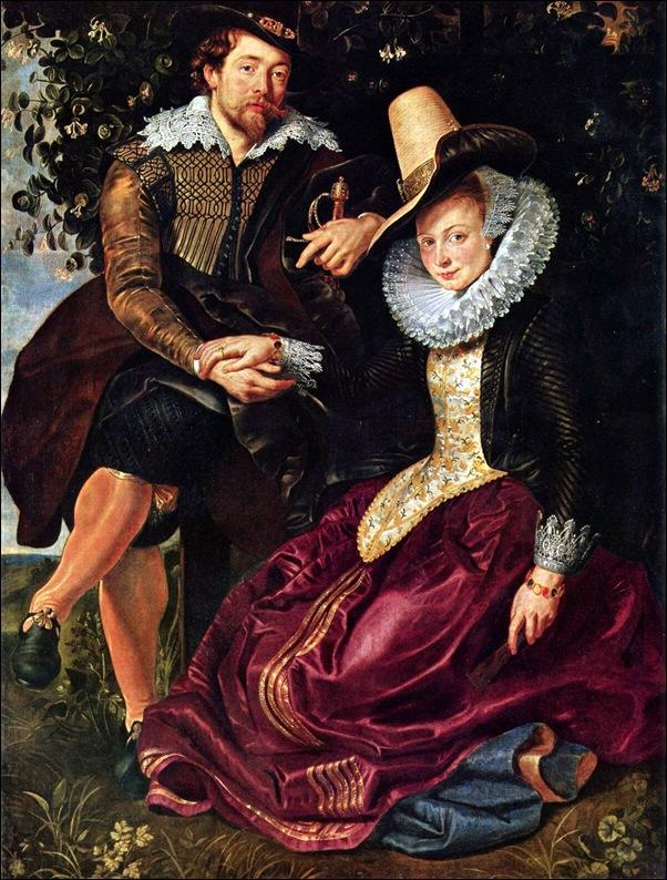 Peter Paul Rubens, Pierre Paul Rubens avec Isabella Brant,