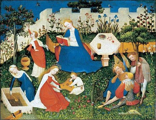 Le Maître du Jardin de Paradis, Jardin du paradis, XVème