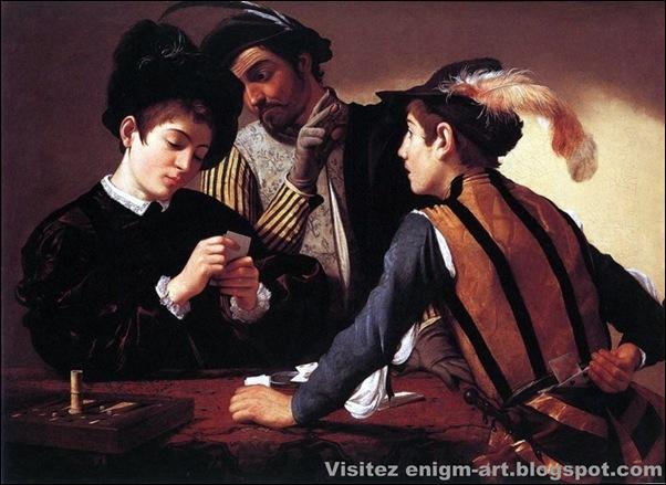 Caravage, Les Joueurs de cartes, 1594-1595