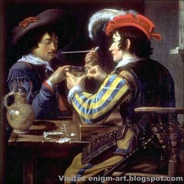 Théodore Rombouts, Les Joueurs de cartes, 1597-1637
