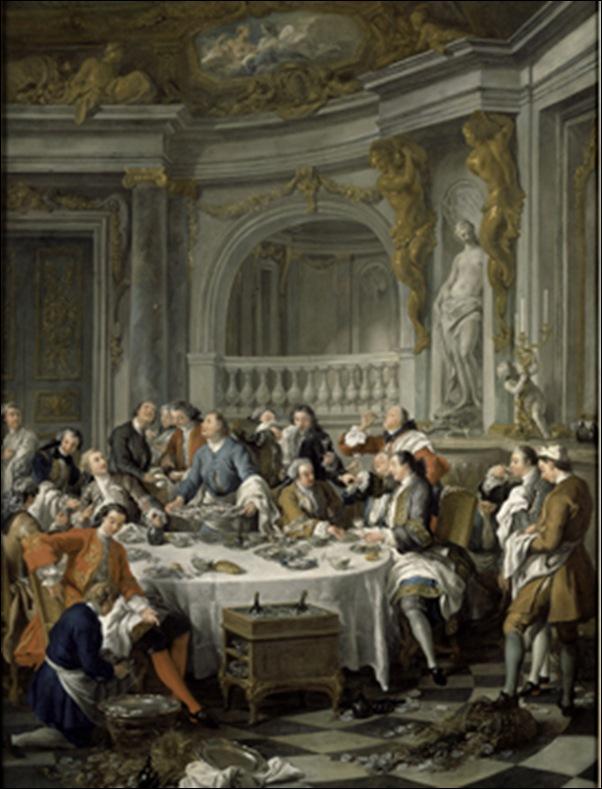 Jean F. de TRoy, Le déjeuner d'huitres