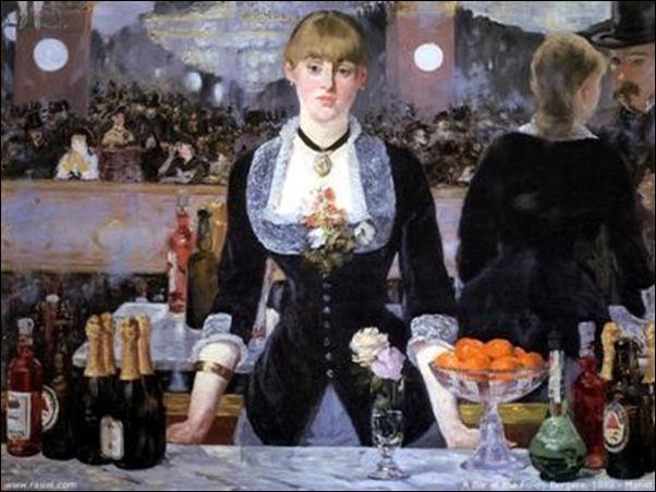 Manet, Bar aux Folies Bergère, 1881