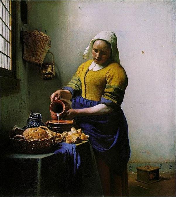 Vermeer, La laitière, 1658