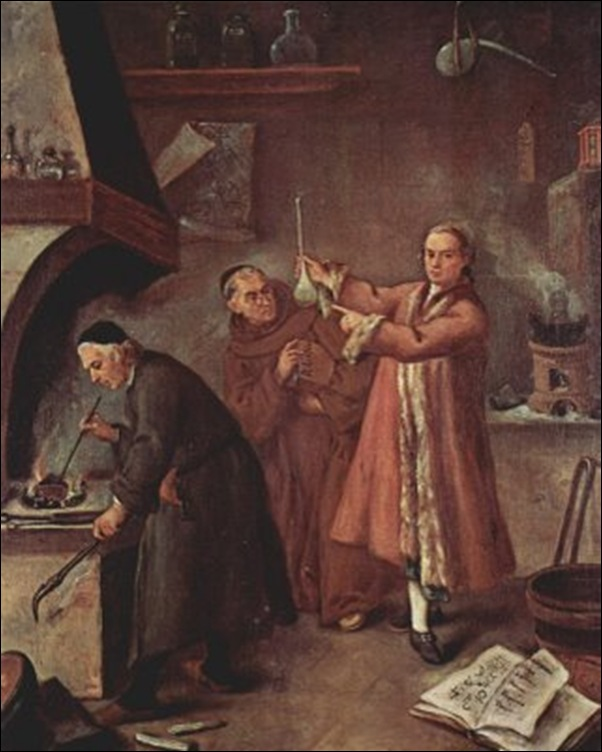 Pietro_Longhi, L'alchimiste