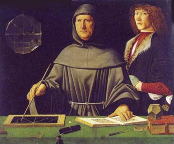 Jacopo da Barbari, Luca Pacioli