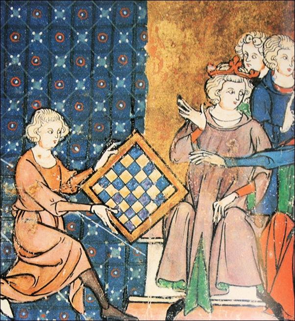 Enluminure XIIIème siècle