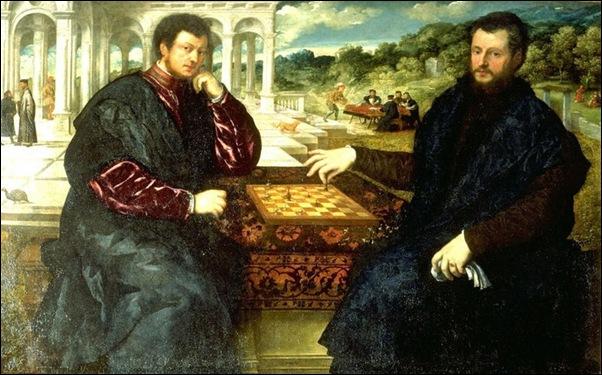 Bordone, Partie d'échecs 1540