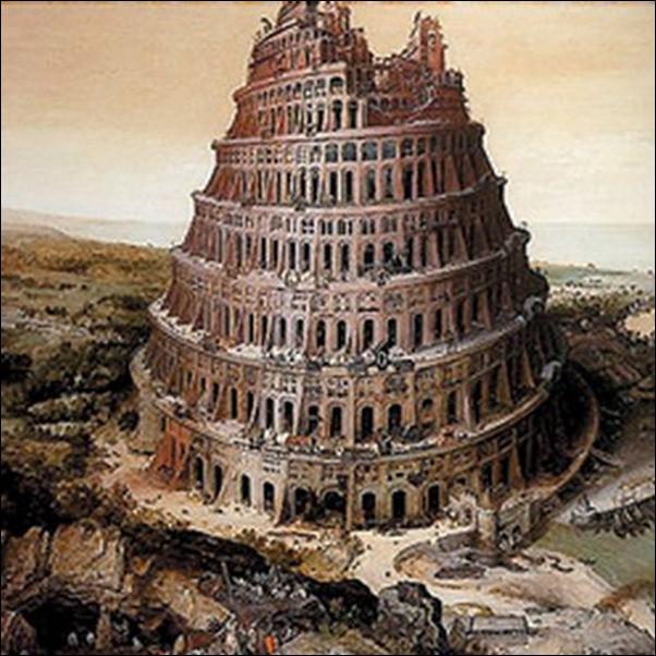 Gaspar Van Wittel, La Tour de Babel