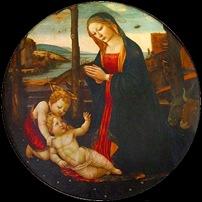Jacopo del Sellaio, Vierge à l'enfant