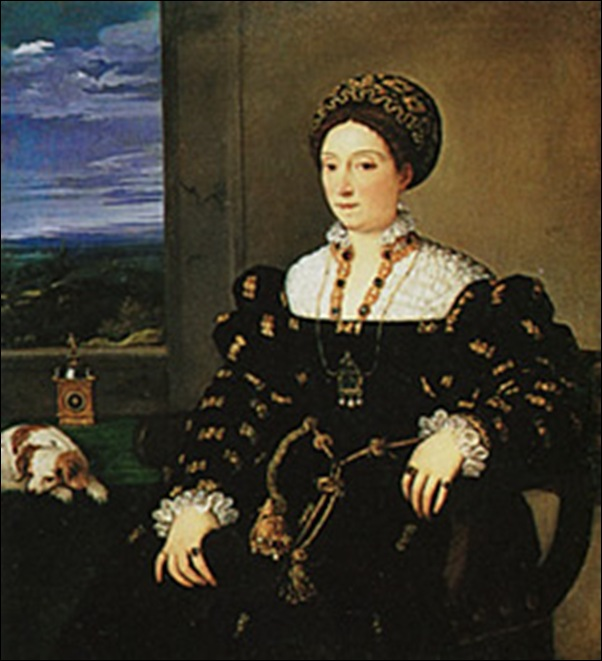 Titien, Eleonora  Gonzague 1536-1537