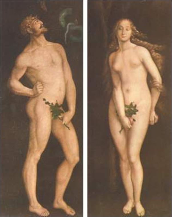 Baldung Grien, Adam et Eve