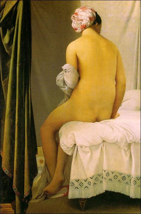 Ingres, La baigneuse de Valpinçon 1808