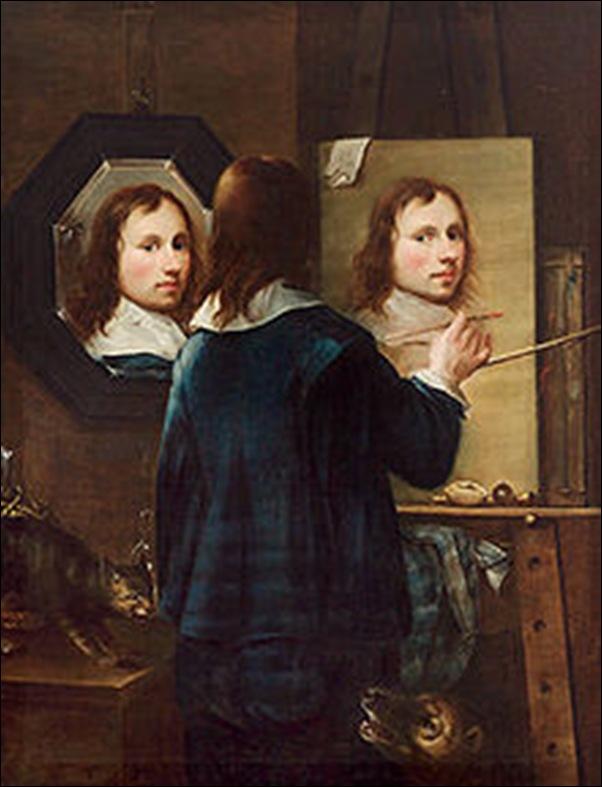 Johannes Grump, Autoportrait