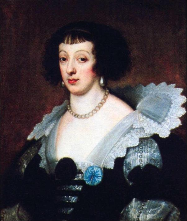 Van Dyck, Portrait d'Henriette