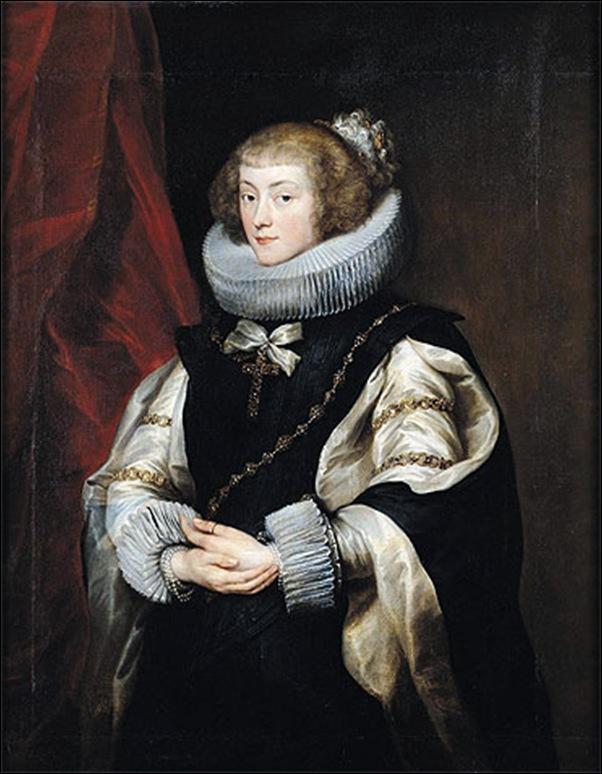 Van Dyck, Portrait de la princesse Marie  1625