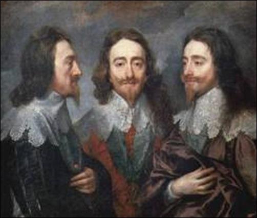 Van Dyck, Portrait représentant Charles Ier