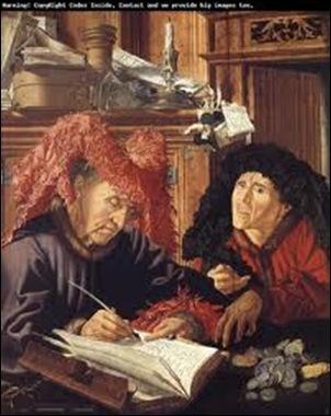 Marinus Van Reymerswae,Les percepteurs d'impôts