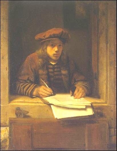 Samuel van,  Autoportrait 1647