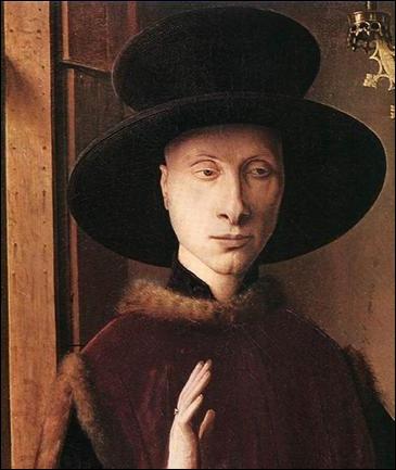 Van Eyck,Portrait de Giovanni Arnolfini