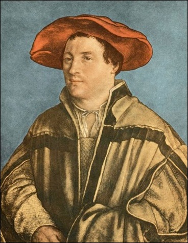 Holbein, Portrait d'homme