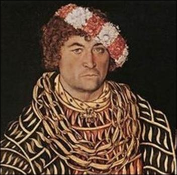 Lucas Cranach, Portrait d'Henri duc de saxe