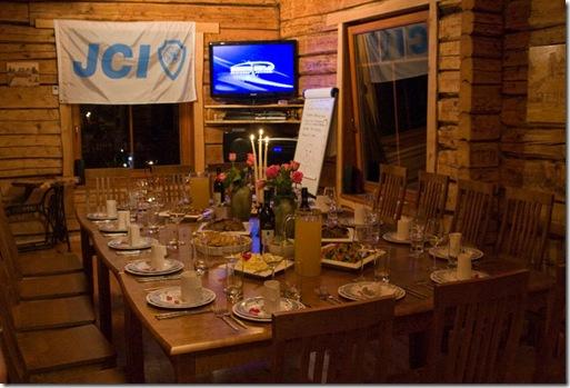 JCI Akadeemia 2010 õhtusöök