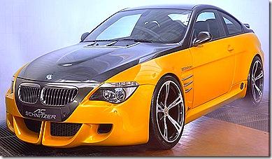 BMW M6 frente