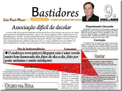 PutzGraça no João Paulo Messer