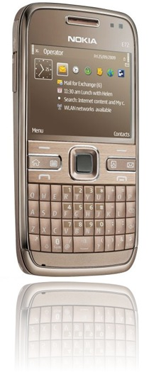 My Nokia E72 Topaz Brown