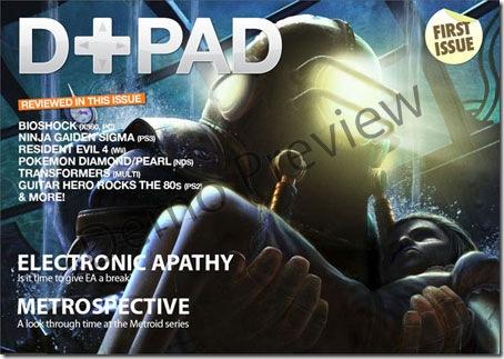 D+PAD 01 - British Game Magazine
