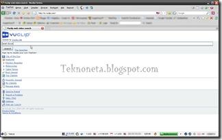 Membuka Vuclip Dengan UAS Pada Firefox