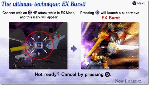 Hint and Tips - EX Burst