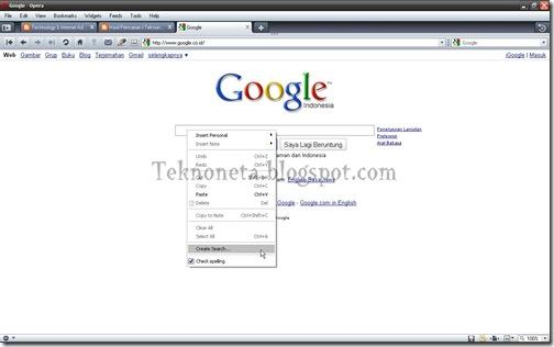 Cara Praktis Search Google