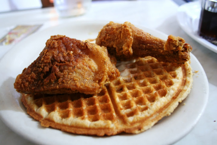 Chicken on Waffle