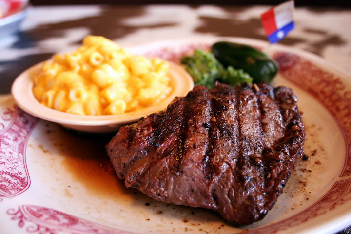 Steak and Mac & Cheese