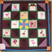 Flamingo Calendar Quilte