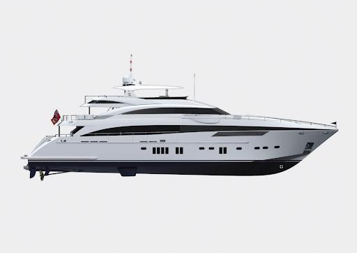Princess 40M – A 130ft long-range tri-deck cruising yacht that will offer an ...