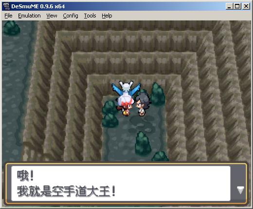 神奇寶貝心金魂銀研砵山的劇情遇到空手道大王並獲得格鬥神奇寶貝巴魯郎-5