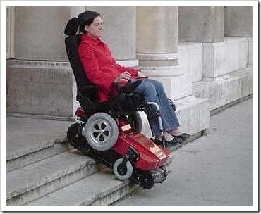 Cadeira de Rodas Trepadora.