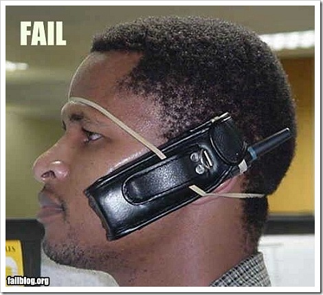 Cell Phone funny fail picture.