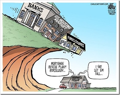 Mortgage Funny Fail Cartoon | Copyright Jeff Parker.