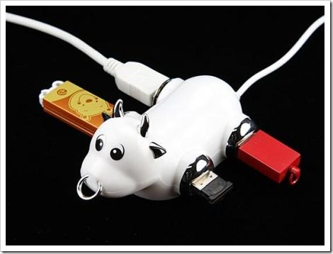 Funny USB connector.