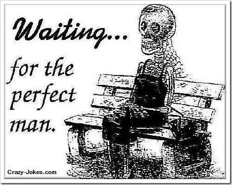 Funny cartoon Waiting.