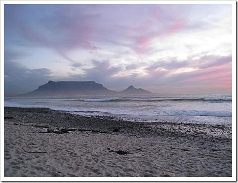 Cape Town Table Mountain.