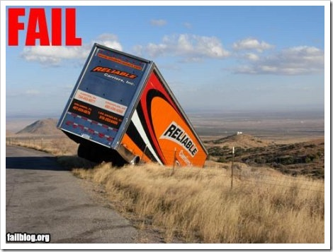 Reliable Truck Fail.